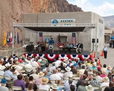 Hoover Dam 75Th Anniversary Celebration